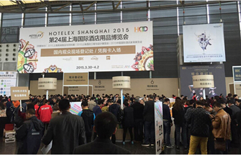 Sunshine Oil Filter made appearance at HOTELEX Shanghai 2015